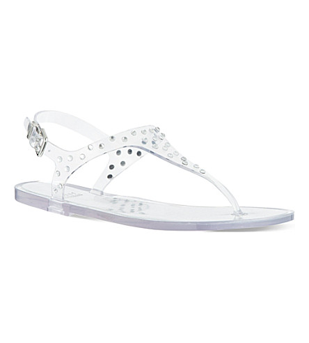 STUART WEITZMAN Glotacks embellished sandals