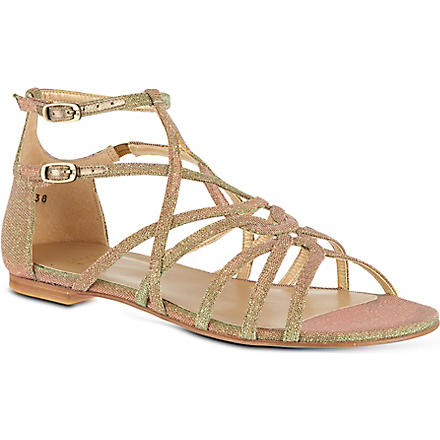 STUART WEITZMAN Staycool sandals (Bronze