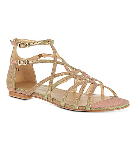 OLIVER SPENCER Staycool sandals (Bronze