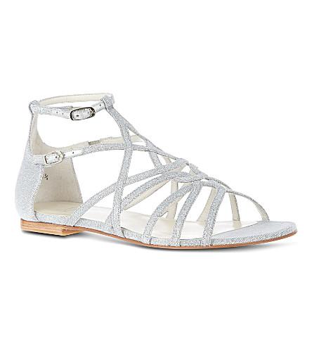 STUART WEITZMAN Staycool sandals (Silver