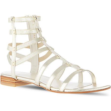 STUART WEITZMAN Caesar sandals (Gold