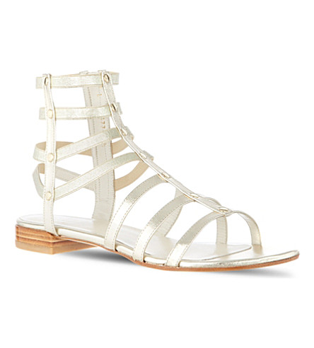 OLIVER SPENCER Caesar sandals (Gold