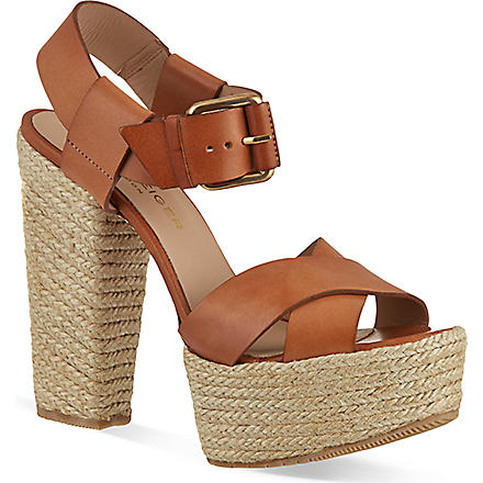 KURT GEIGER Willow sandals (Tan