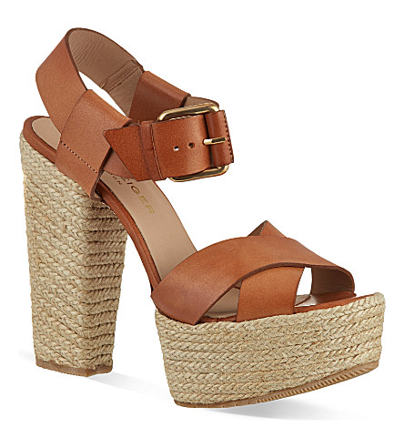 KURT GEIGER LONDON Willow sandals (Tan