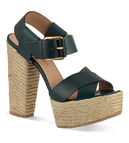 KURT GEIGER Willow sandals (Green