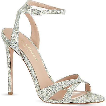 KURT GEIGER Maia sandals (Champagne