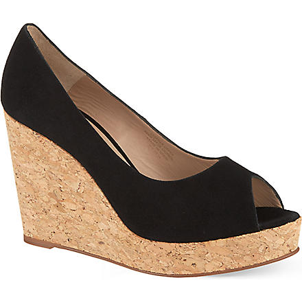 KURT GEIGER Capella wedges (Black