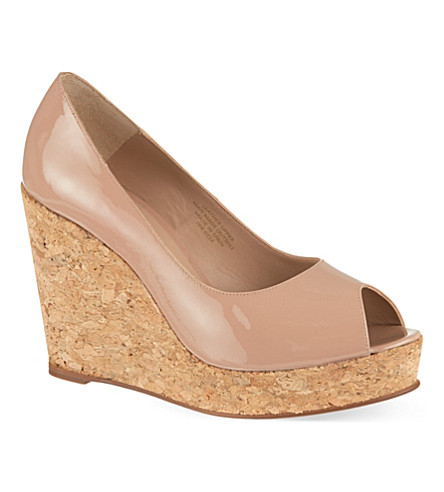 KURT GEIGER Capella wedges (Nude