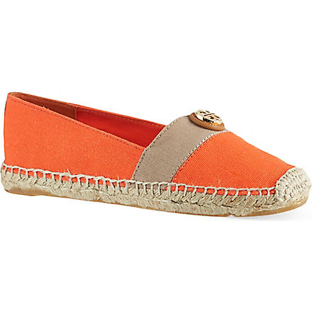 TORY BURCH Bleacher espadrilles (Red/other