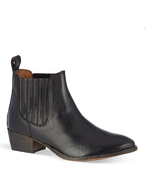KURT GEIGER Lang leather chelsea boots
