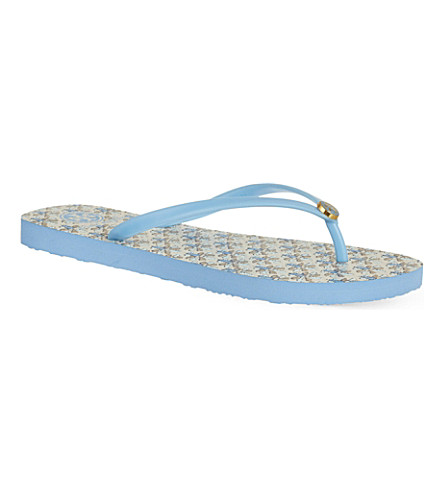 TORY BURCH Printed flip flops (Mult/other