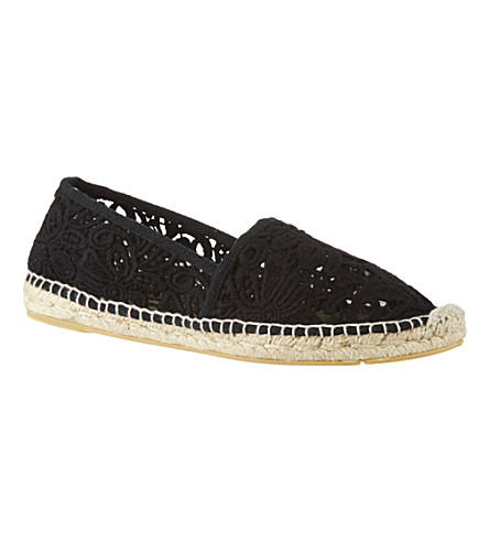 TORY BURCH Abbe espadrilles (Blk/brown