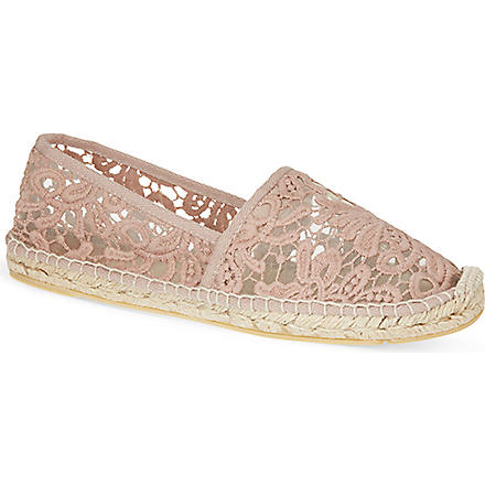TORY BURCH Abbe espadrilles (Nude