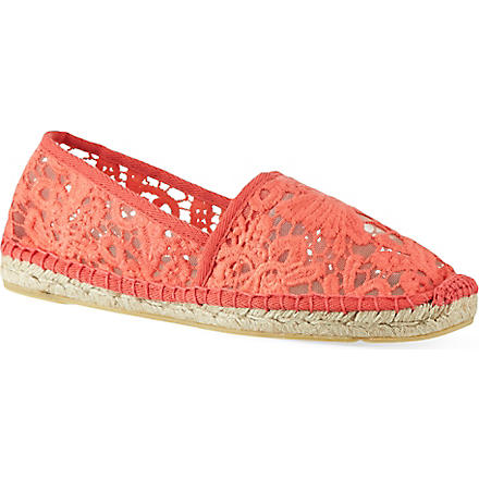 TORY BURCH Abbe espadrilles (Red/other