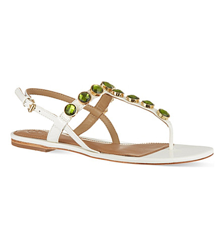 TORY BURCH Mariah sandals (White/oth
