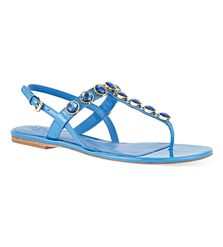 TORY BURCH Mariah sandals (Blue