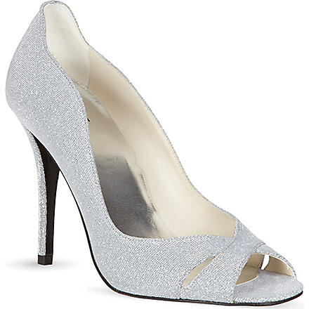 STUART WEITZMAN Showupup sandals (Silver