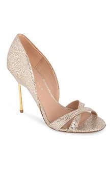 KURT GEIGER Beverley glitter sandals