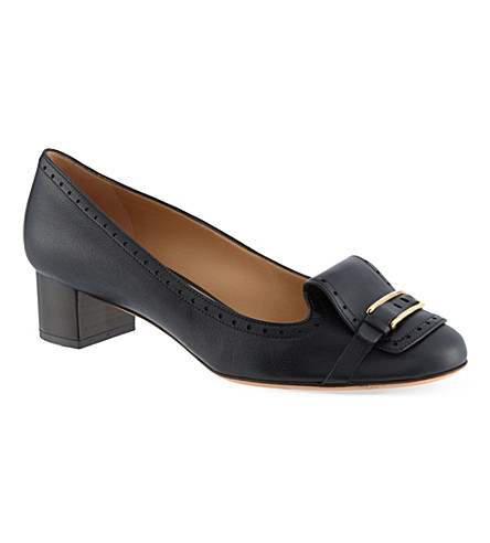 SALVATORE FERRAGAMO Ninu 40 courts (Black