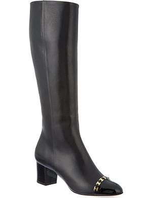 FERRAGAMO Nanni 55 C knee-high boots