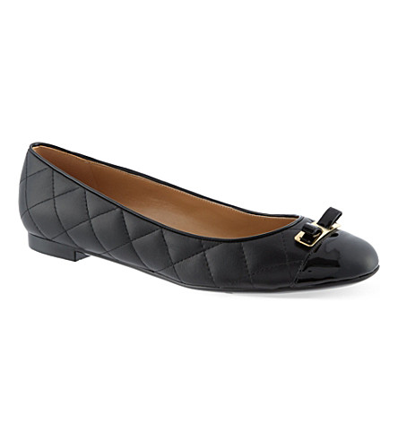 FERRAGAMO My Quilted pumps (Black