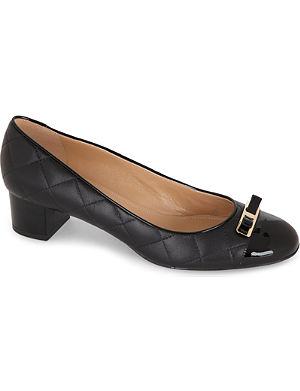 FERRAGAMO My quilted-leather court shoes