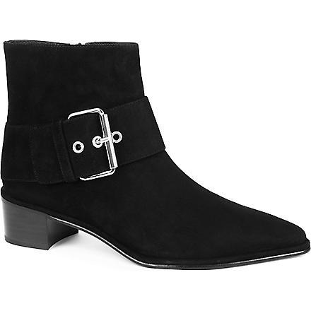 STUART WEITZMAN Buckler ankle boots (Black