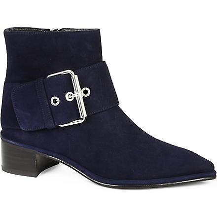 STUART WEITZMAN Buckler ankle boots (Blue