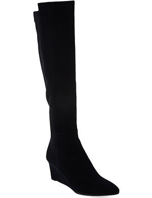 STUART WEITZMAN Demimimi suede knee-high boots