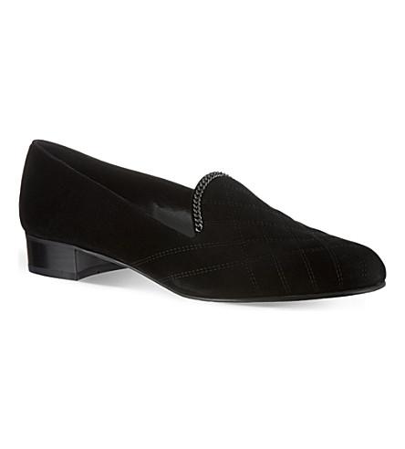 STUART WEITZMAN Hallmark slippers (Black