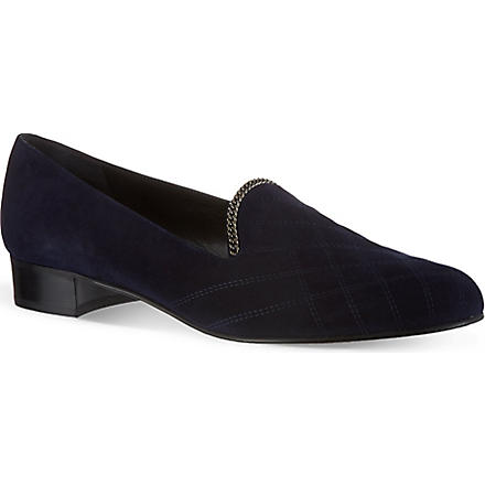 STUART WEITZMAN Hallmark slippers (Blue