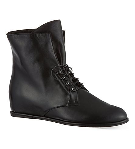 STUART WEITZMAN Stepacross ankle boots (Black
