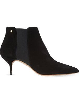 KURT GEIGER Ezra suede ankle boots