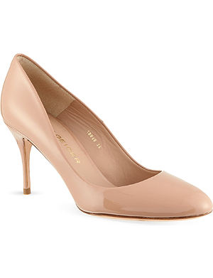 KURT GEIGER Petal patent leather courts