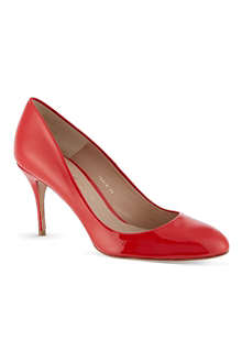 KURT GEIGER Petal patent leather pumps