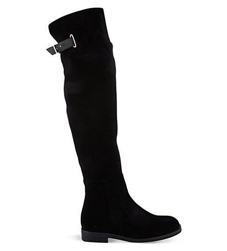 KURT GEIGER LONDON Cole high leg boots (Black