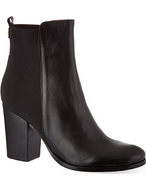 KURT GEIGER LONDON Jacob leather ankle boots