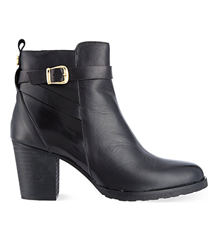 KURT GEIGER LONDON Sofie leather ankle boots (Blk/other