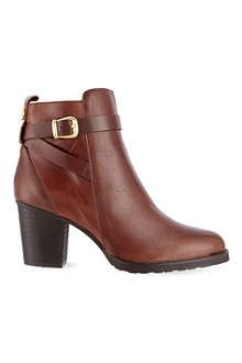 KURT GEIGER Sofie leather ankle boots