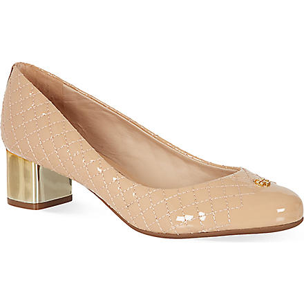 TORY BURCH Kent pumps (Nude