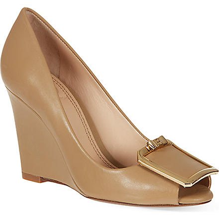 TORY BURCH Grayson wedges (Beige