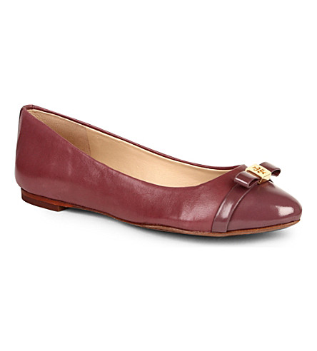 TORY BURCH Hugo pumps (Wine