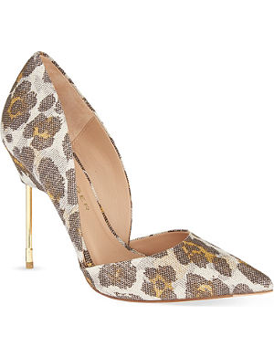 KURT GEIGER LONDON Bond floral heels