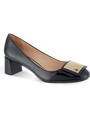 TORY BURCH Tiernan patent leather pumps
