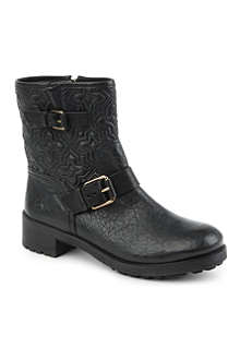 TORY BURCH Chrystie quilted boots