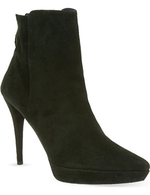 STUART WEITZMAN Mizzip heeled ankle boots