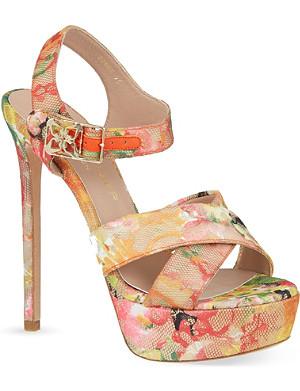KURT GEIGER Blossom heeled sandals