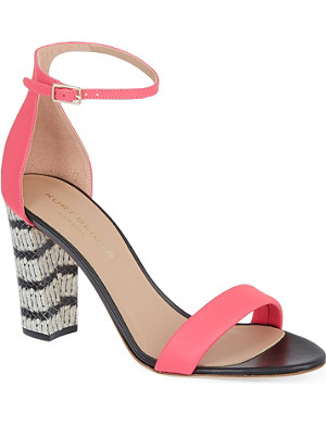 KURT GEIGER Isabella block heeled sandals