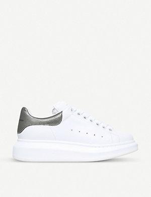 ALEXANDER MCQUEEN Runway leather sneakers