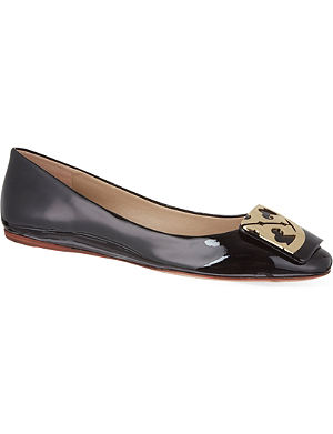 TORY BURCH Square flats